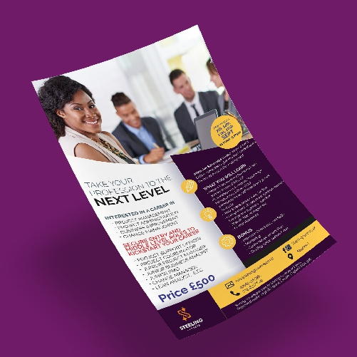 PRINTHEROES A4 SINGLE SIDED FLYER